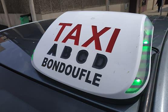 Service de Taxi sur réservation à Bondoufle